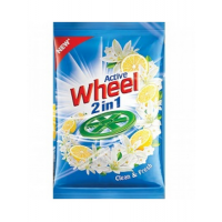Active Wheel 2 In 1 Detergent Fresh 1 Kg
